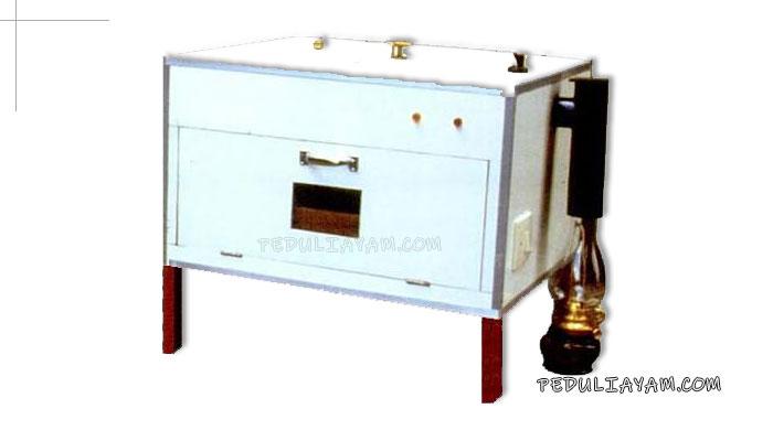 Membuat Sendiri Mesin Tetas Telur lampu Minyak Simpel